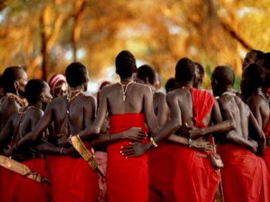 tribu africana