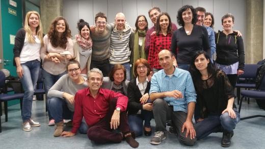 Foto taller psicodrama transgeneracional